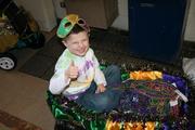 Riley's Mardi Gras Parade @ school