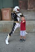 Riley LOVES Power Rangers!