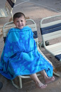 A little cold for a water park?