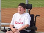 Joshua playing baseball 2007