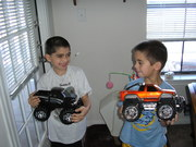 Austin & Dillon Xmas 2005