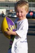 Our little quarterback