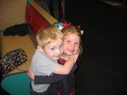 Jake & his friend Emma