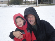 Brogan and Clayten taking a SNOW DAY!