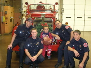 X-mas at the local firehouses