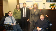 PPMD in DC 2009 with Chellie Pingree