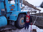 Livingston Concrete donates cement