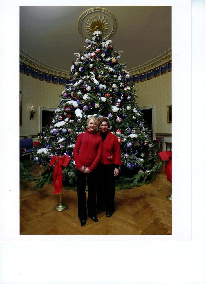 Kelsey and Cheri were invited to a tea at the white house