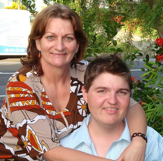 Doug and mum
