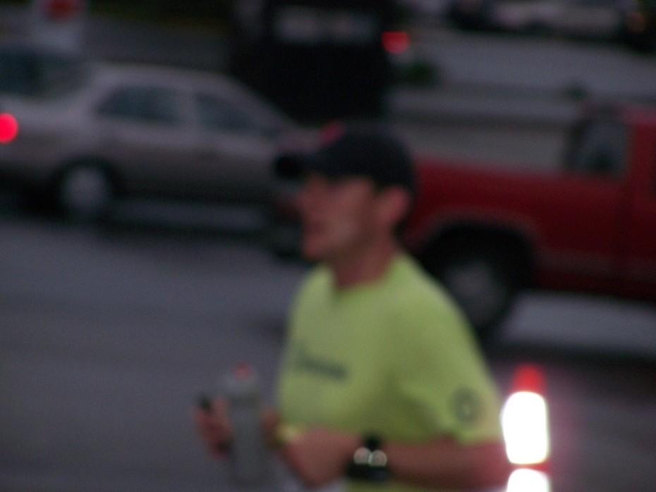 Dale Willis at Mile 4