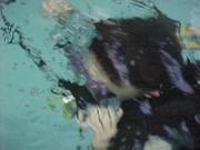 Jacob underwater by himself 2