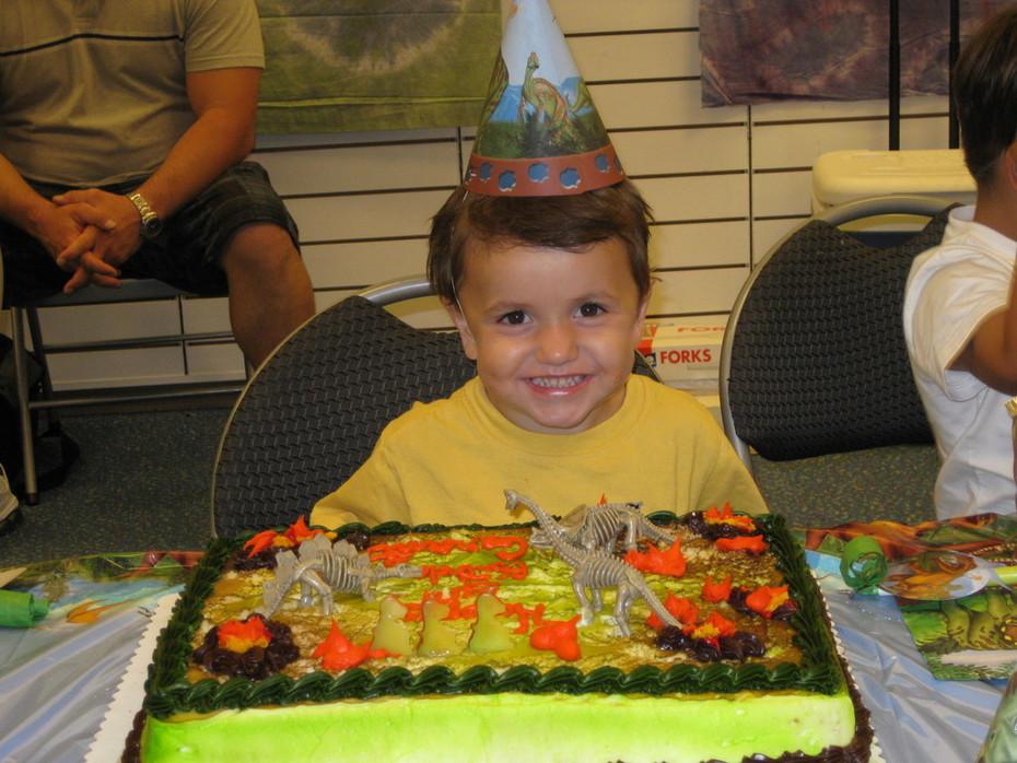 Grant's 3rd Birthday