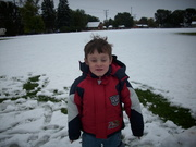 First Snow -- Oct. 2009