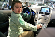 William at the New England Auto Show