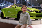 A Toxic Green Lexus