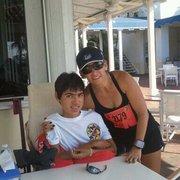 My mom after ALS 10k marathon