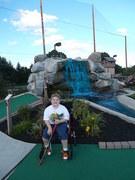 Kev mini golf birthday