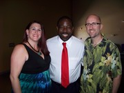 With Les Brown at Unity of Phoenix