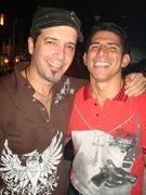 Luis (SCORE) & myself