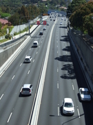 Warringah Freeway overpass