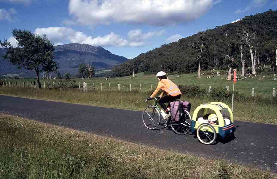 Heading for the hills in northern Tasmania