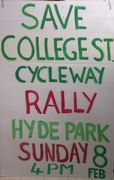 College St Rally