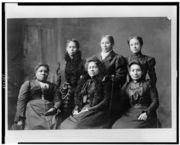 PortraitofsixAfricanAmericanwomen