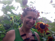 Judith & Sunflowers