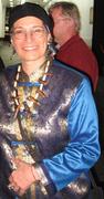 Judith 2008 Blue Asian Top