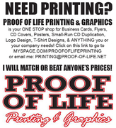 PROOF OF LIFE PRINTING & GRAPHICS