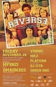 REVERSE Fourth Fridays @ Levende