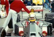 Ayrton Senna , USGP, Phoenix AZ 1990