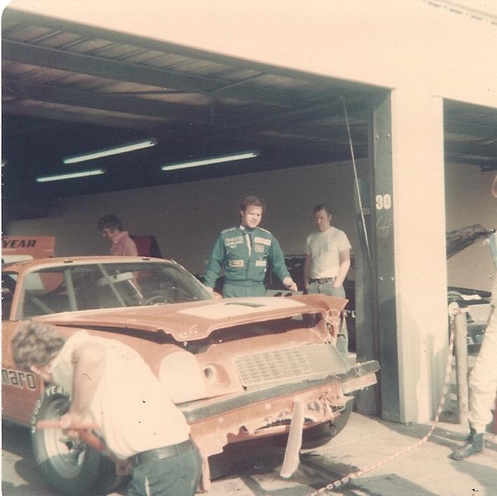 IROC 1974 Riverside-- Practice Wreck