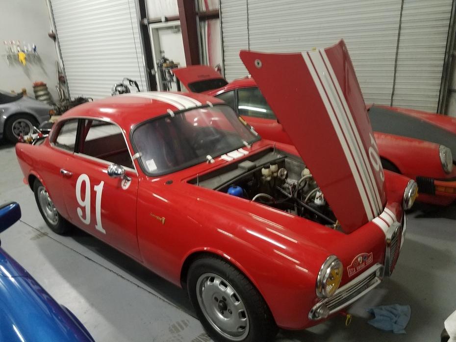 1959 Alfa Romeo Guilietta Sprint