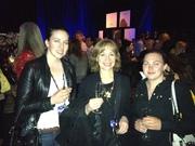 Melissa (OEF) Barbara (Barnmice), Nikki (Barnmice) : Opening night party at Odysseo