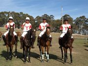 The West Australian cousins visit for the Polo