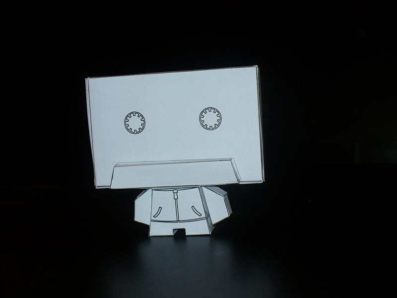 TapeHead Front View