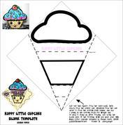 Happy Little CupCake - blank