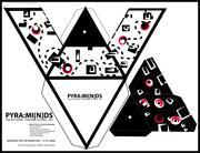 Pyramid Paper Toy , Geo Pyramid