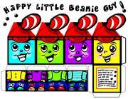 Happy Little Beanie Guy