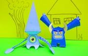 Gluey2 & Unnamed Squid