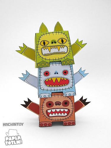 Paper Totem! x Machintoy