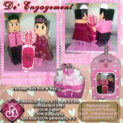 Engagement Paper Toy