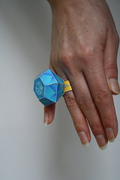Papertoy diamond ring
