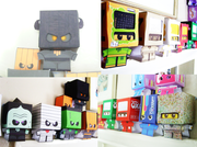 Cardboy Papercrafts + Customs