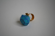 Papertoy diamond ring