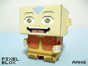 PixelBlox - Aang from Avatar