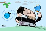 Loving twitter...papertoy?