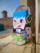 TechMAG magazine / paper toy