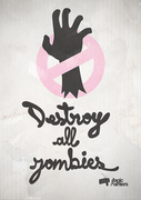 Logo Destroy all Zombies